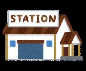 満員電車対策乗る駅