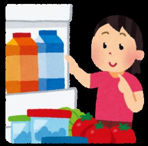 食費節約買い物の仕方冷蔵庫のなか