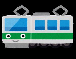満員電車対策揺れる