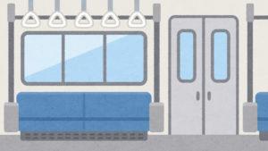 電車の匂い対策人が少ない