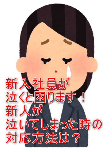 新入社員泣くアイキャッチ