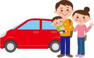 2歳車長距離ドライブ夫婦交代