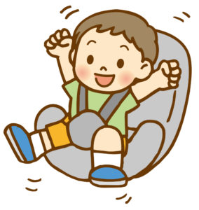 2歳車長距離ドライブチャイルドシート