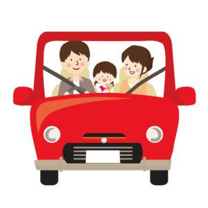 2歳車長距離ドライブ安全運転