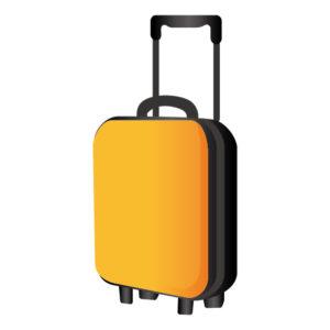 満員電車嫌いスーツケース