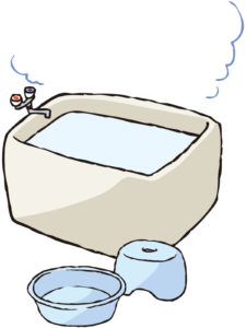 社員旅行温泉嫌部屋風呂