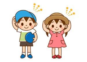 幼稚園夏休み過ごし方涼しい時間公園