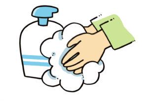 幼稚園帰宅後手洗い