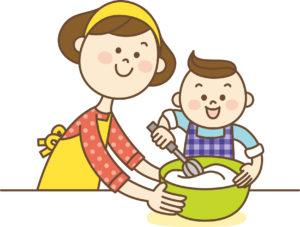 幼稚園夏休み過ごし方デザート作り